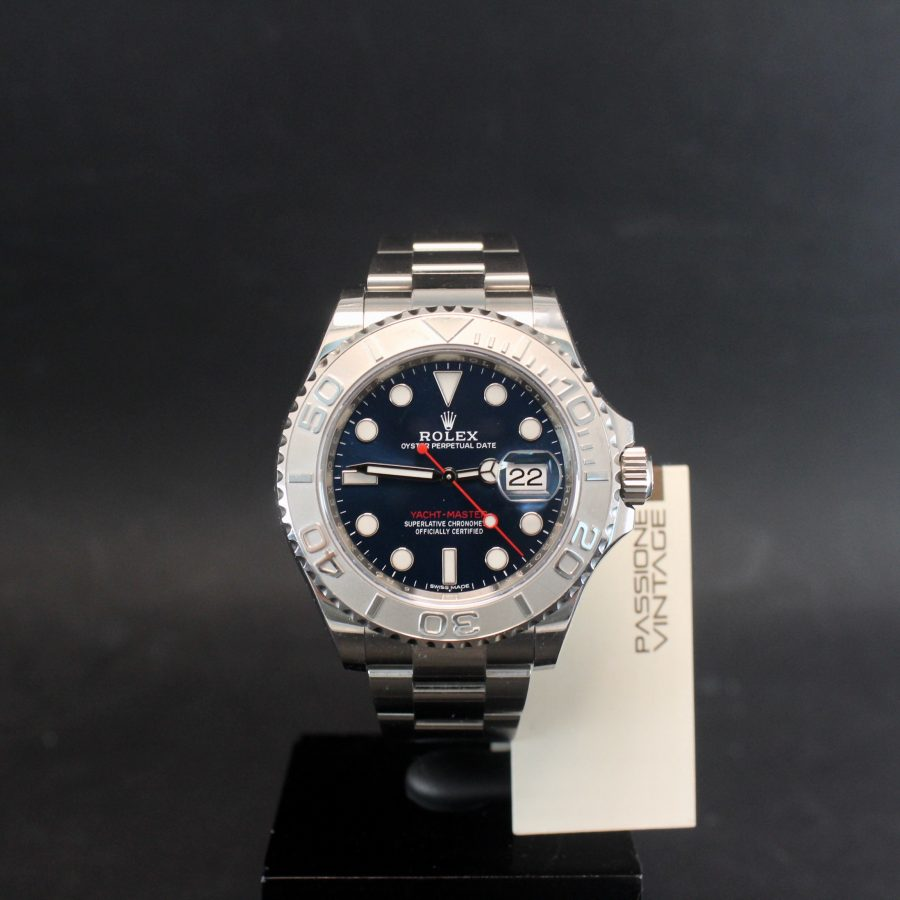 Rolex Yacht Master, Blue Dial, card