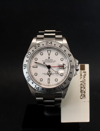 Rolex Explorer II, White Polar, Only Swiss
