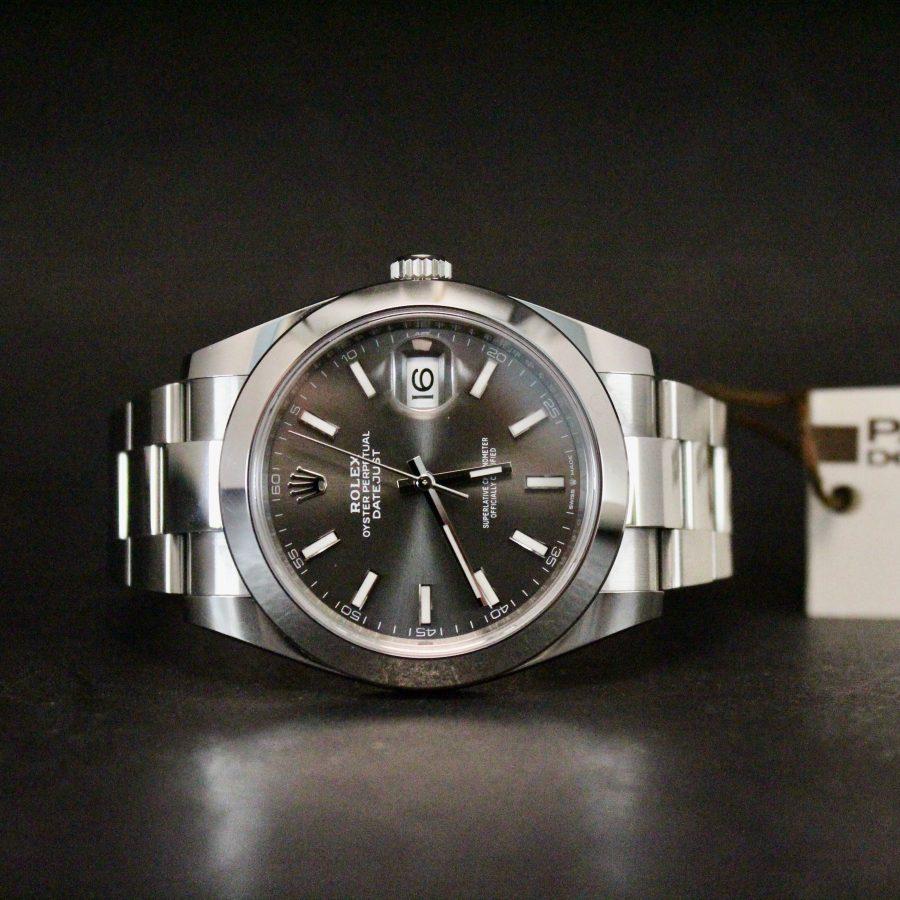 Rolex Datejust II Oyster Grey Palermo