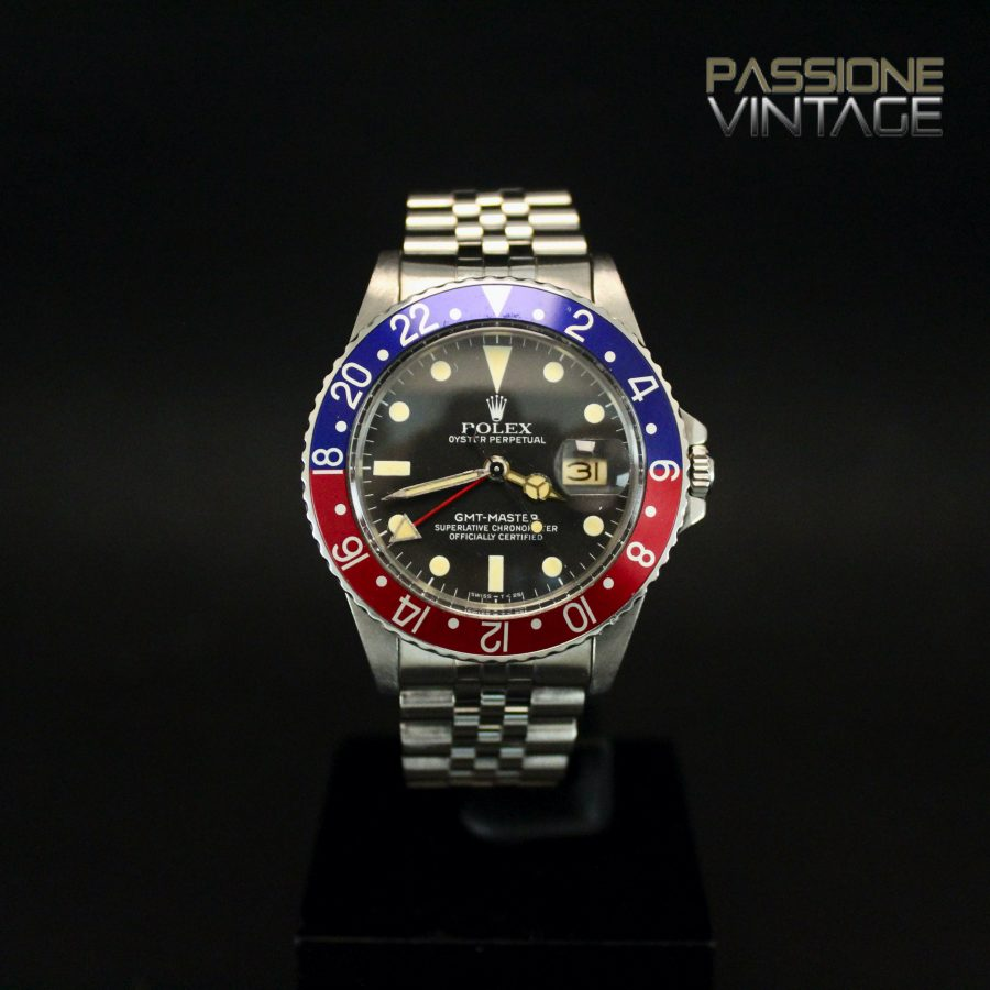 Rolex GMT Master Pallettoni 16750 Jubilee