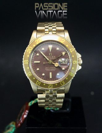 Rolex 1675-8 Brown Nipple dial palermo