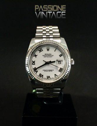 Rolex 116234 Jubilee White Roman