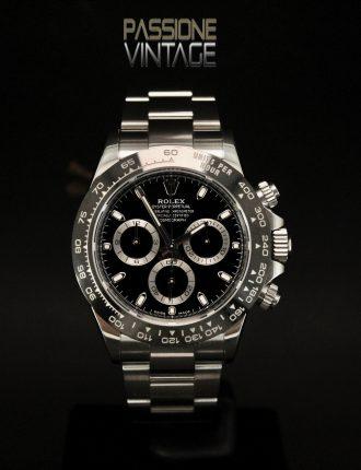 Passione Vintage, 116500LN, Rolex daytona, Passione del Tempo,