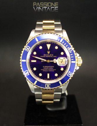 Rolex 16613 Purple Dial Passione del Tempo