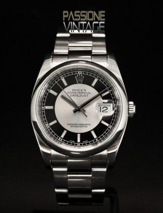 Rolex Datejust 116200 Tuxedo Dial, Passione Vintage, Passione del Tempo
