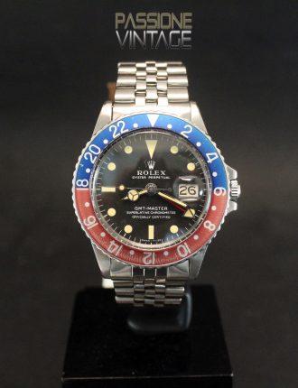 Rolex GMT-Master 1675 Long E Passione Vintage